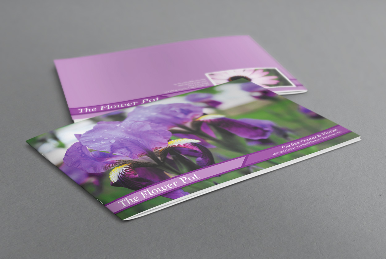 Flower Booklet Preview  Booklet Template