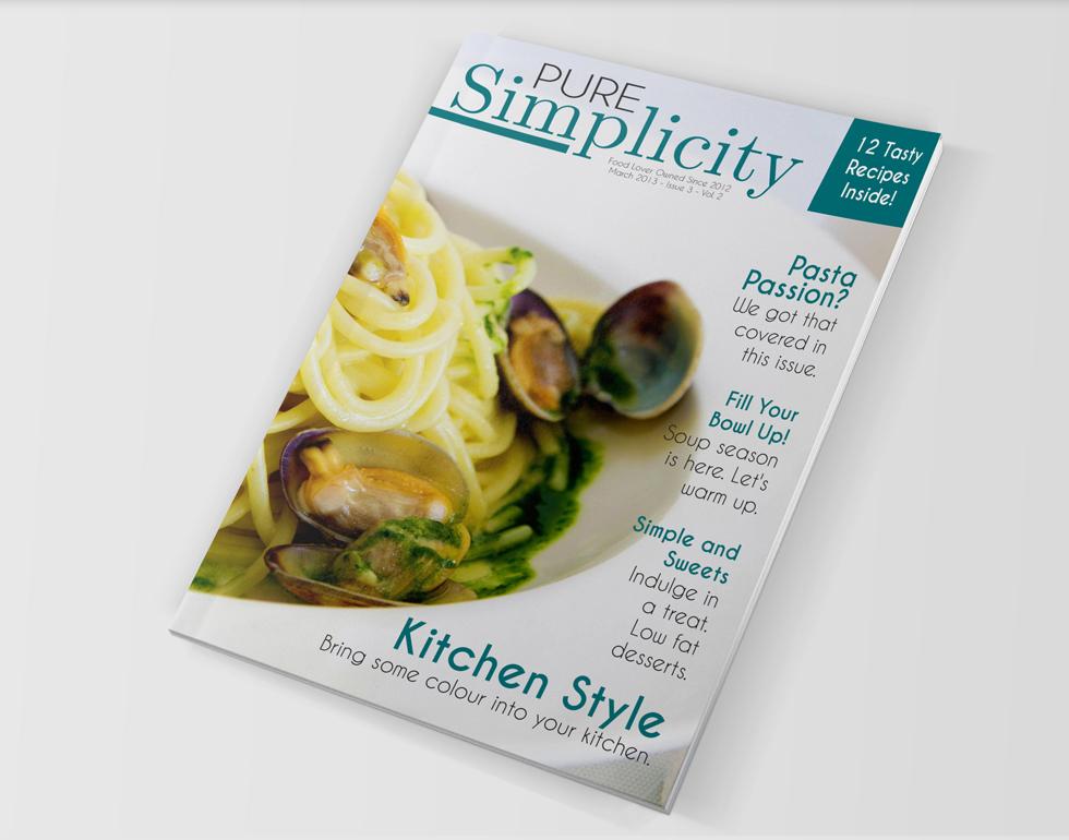 Food Magazine Template – Indesign CS4+ Free | Creativity Crate