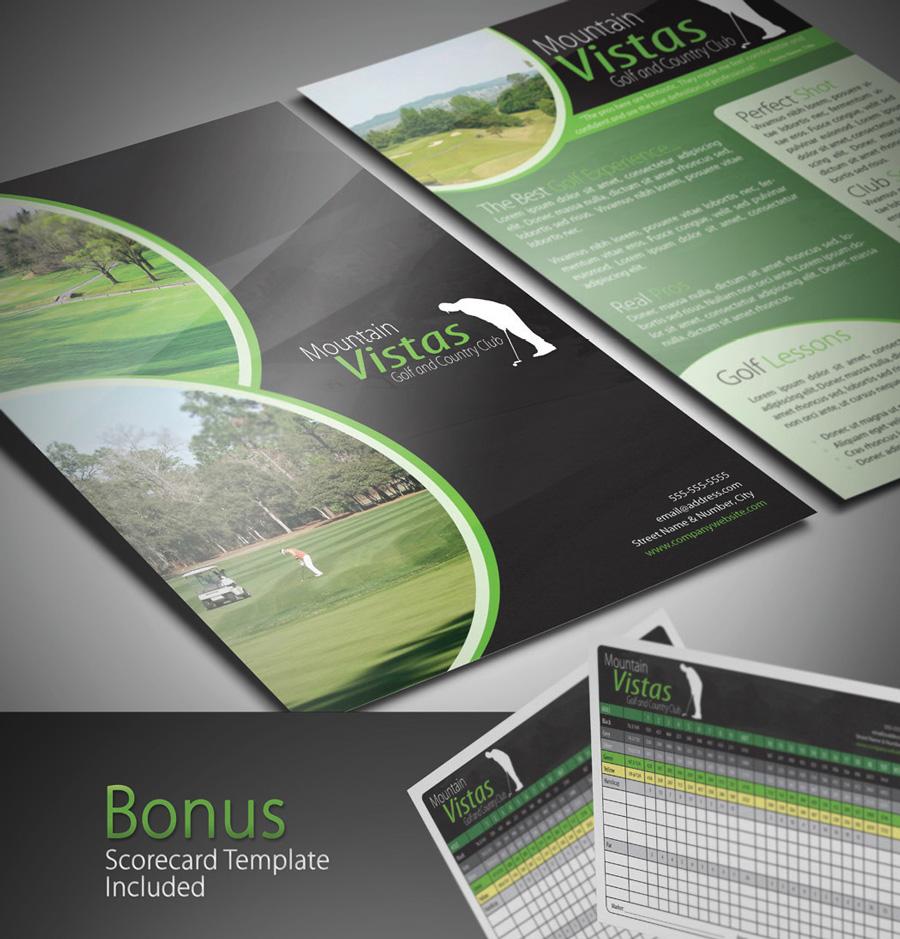 InDesign Template Pack Brochure Flyer Biz Card Creativity Crate - Indesign template brochure